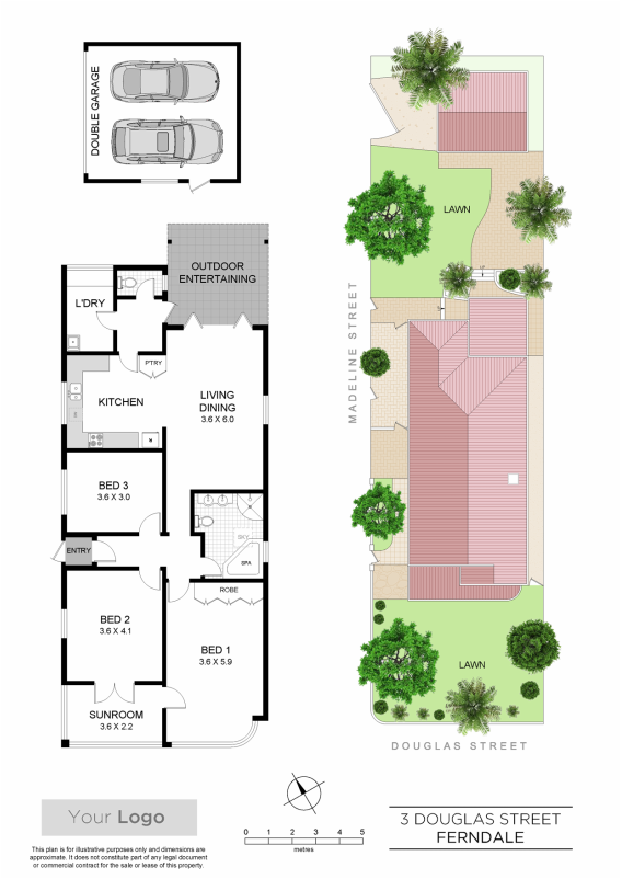 Floorplan sample 11 zigzag floorplans for real estate for Floor plans for real estate marketing